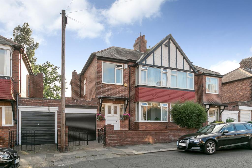 3 Bedrooms Semi Detached House for sale in Selborne Gardens, Jesmond Vale, Newcastle upon Tyne
