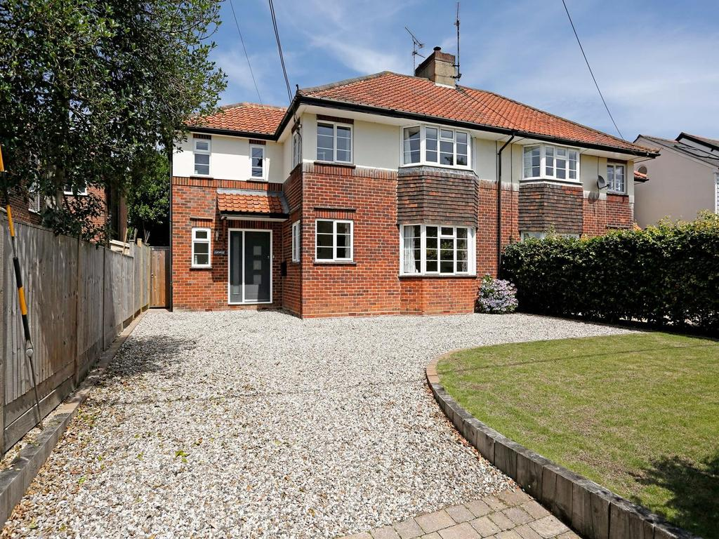 4 Bedrooms Semi Detached House for sale in Braintree Road, Felsted, Essex, CM6