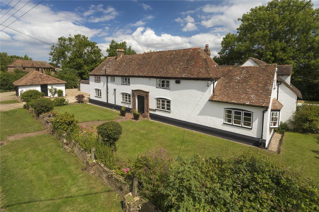 4 Bedrooms Detached House for sale in Kake Street, Waltham, Canterbury, Kent