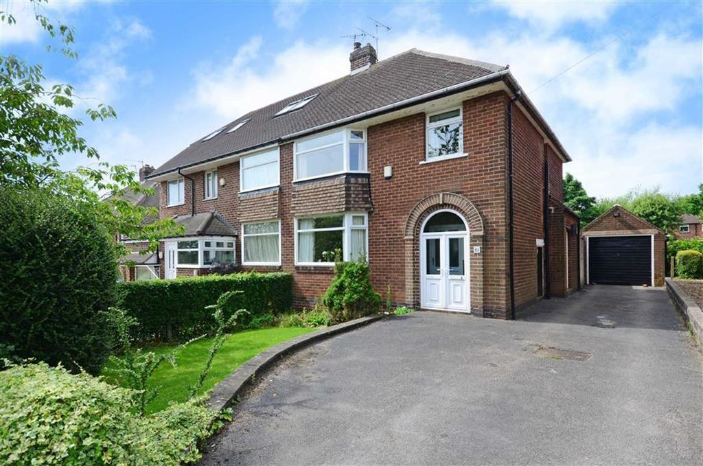 3 Bedrooms Semi Detached House for sale in 61, Hallam Grange Crescent, Fulwood, Sheffield, S10