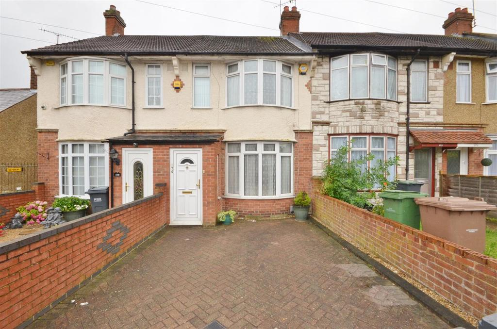 2 Bedrooms Terraced House for sale in Bishopscote Road