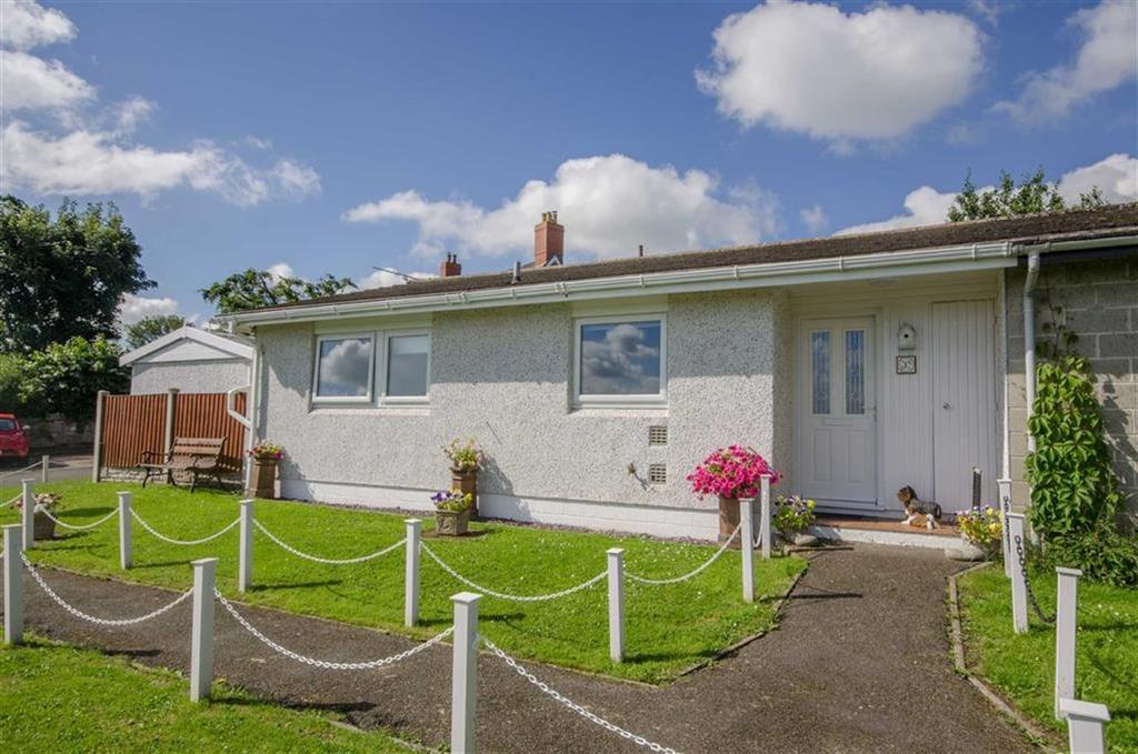 2 Bedrooms Terraced Bungalow for sale in Maes Robert, Cefn, St Asaph, St Asaph