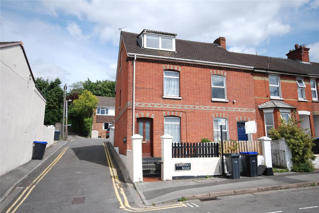 4 Bedrooms End Of Terrace House for sale in Rampart Road, Salisbury, Wiltshire, SP1