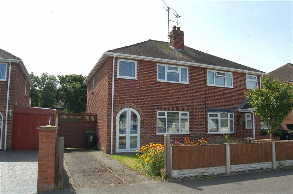 3 Bedrooms Semi Detached House for sale in Woodsome Drive, Whitby, Ellesmere Port
