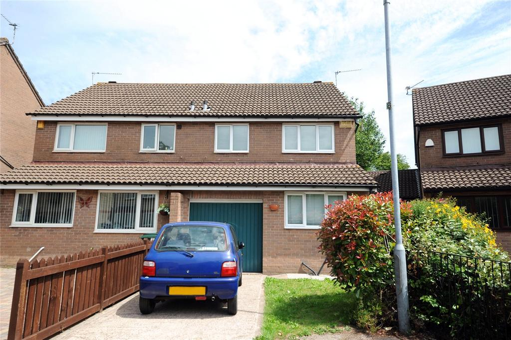 3 Bedrooms Semi Detached House for sale in Amberley Close, Pontprennau, Cardiff, CF23