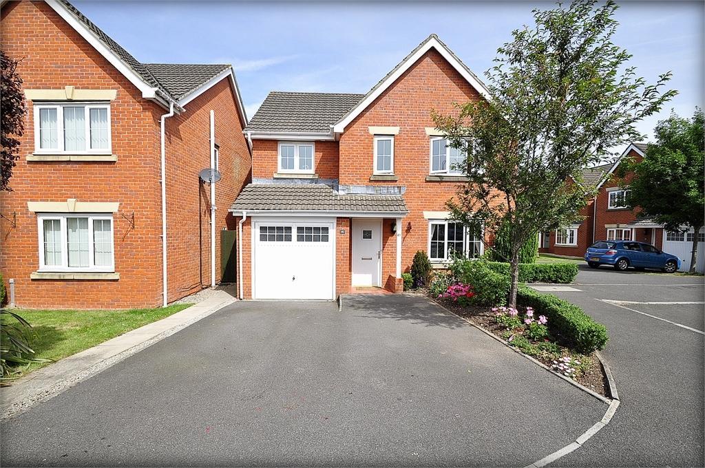 4 Bedrooms Detached House for sale in Brigantine Way , Newport, Gwent. NP10 8EW