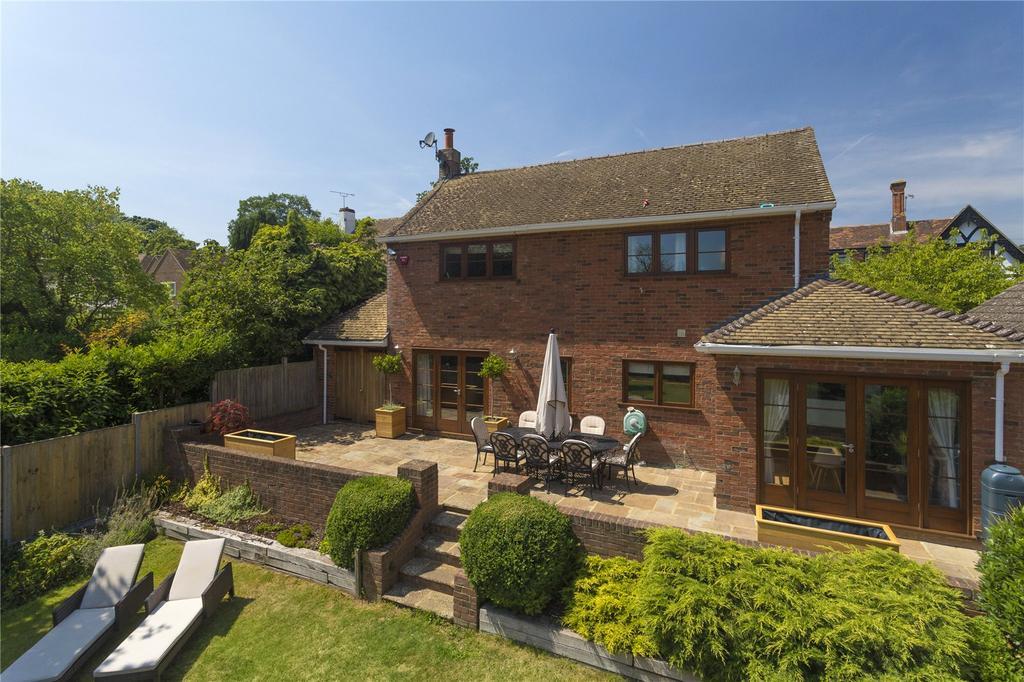 4 Bedrooms Detached House for sale in Conyngham Lane, Bridge, Canterbury, Kent