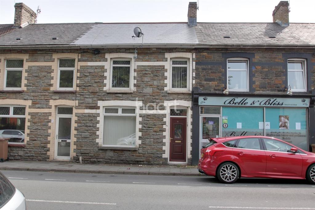 3 Bedrooms Terraced House for sale in Commercial Street, Risca, Newport