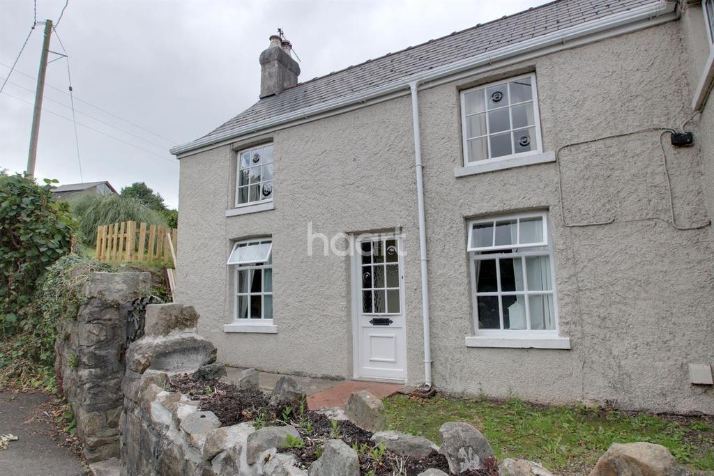 3 Bedrooms Semi Detached House for sale in Ivy Cottage,Upper Ochrwyth ,