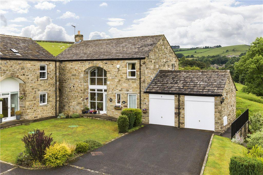 4 Bedrooms Barn Conversion Character Property for sale in Devonshire House Farm, Lothersdale, North Yorkshire
