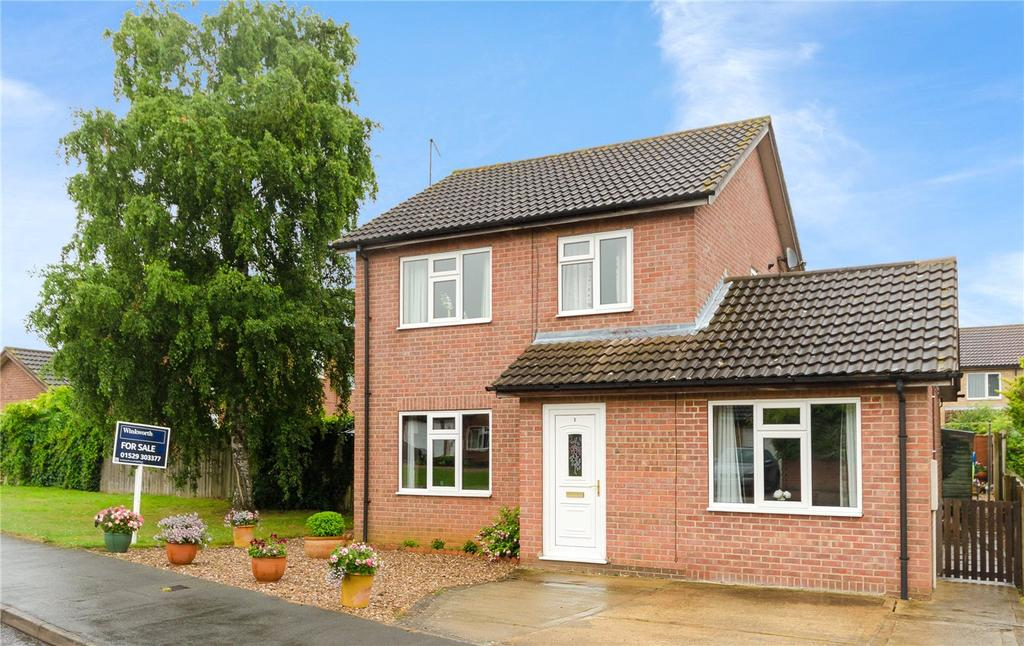 3 Bedrooms Detached House for sale in Bridle Close, Sleaford, Lincolnshire, NG34