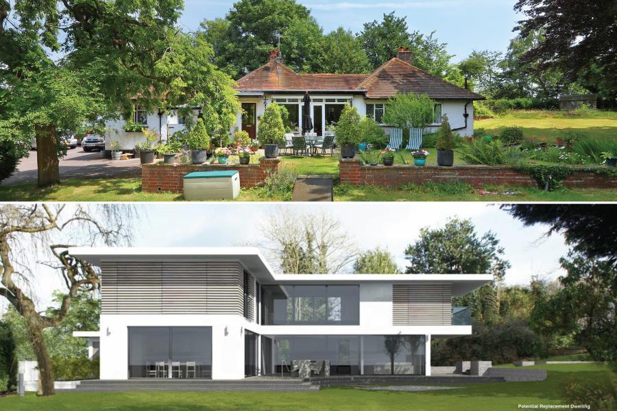 5 Bedrooms Detached Bungalow for sale in Chobham, Surrey