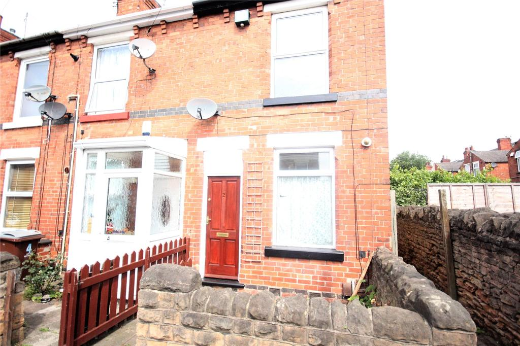 2 Bedrooms End Of Terrace House for sale in Acton Avenue, Nottingham, Nottinghamshire, NG6