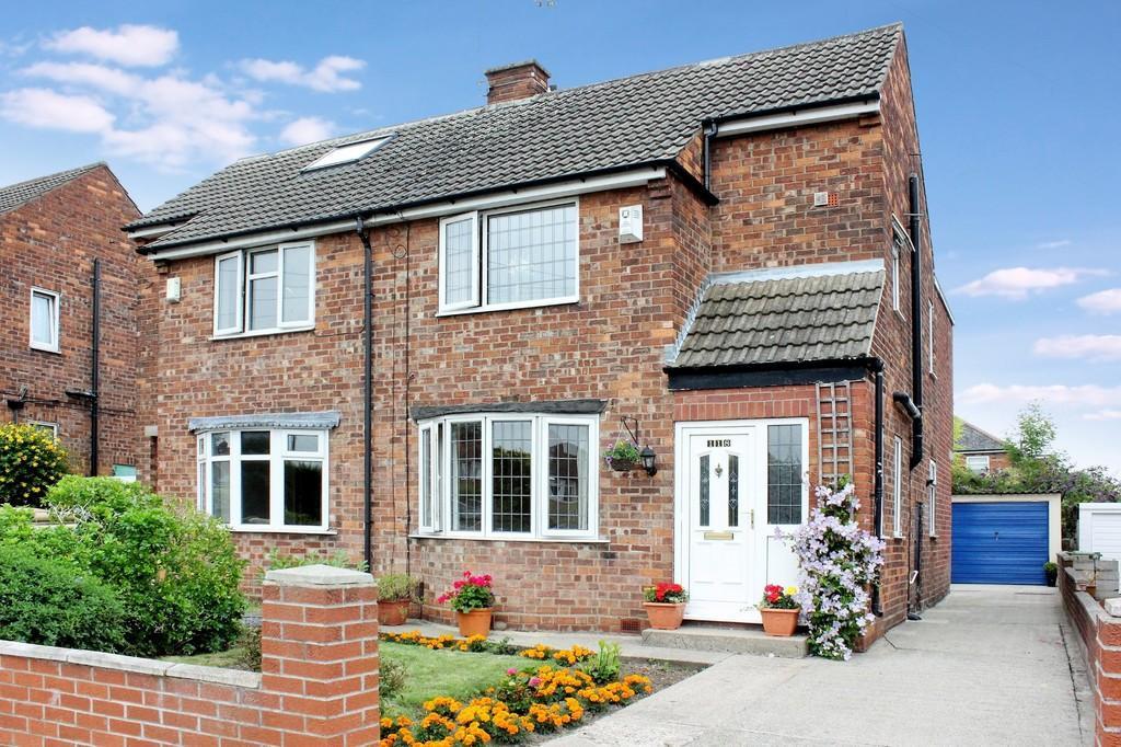 3 Bedrooms Semi Detached House for sale in 118 Hamilton Drive Holgate York YO24 4LD