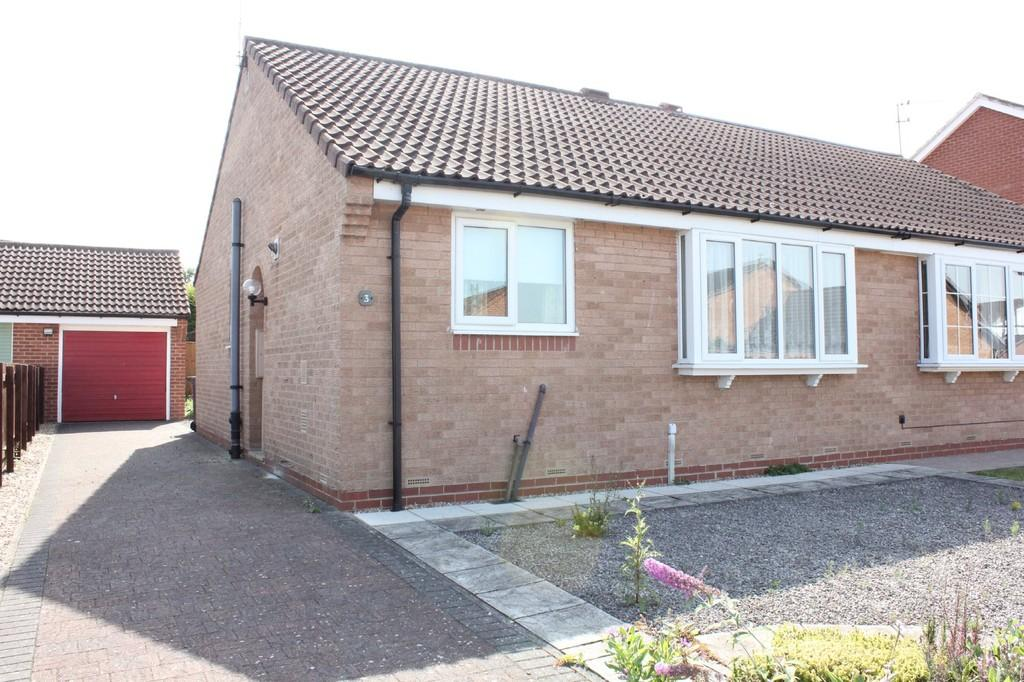 2 Bedrooms Semi Detached Bungalow for sale in 3 Ebsay Drive Clifton Moor York YO30 4XR