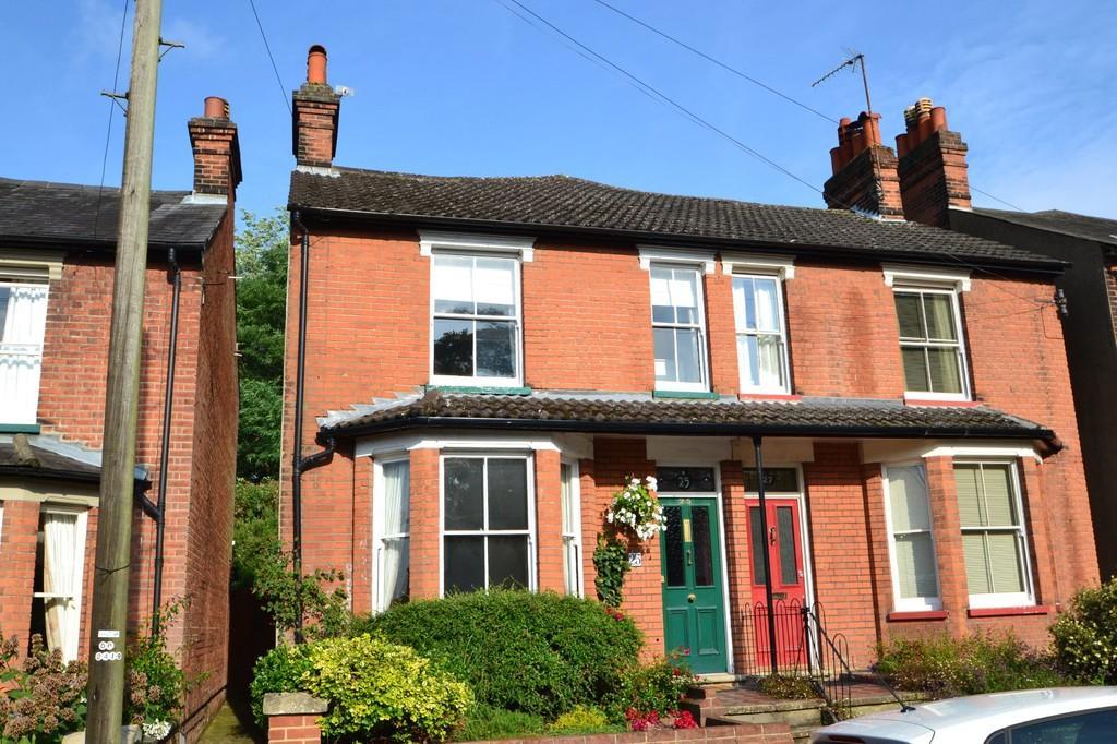 3 Bedrooms Semi Detached House for sale in Westerfield Road, Ipswich, Suffolk