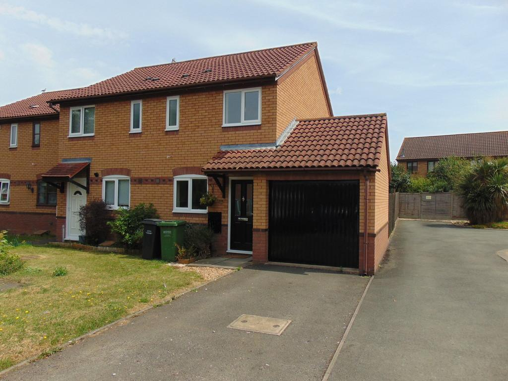 2 Bedrooms End Of Terrace House for sale in St. Patricks Close, Evesham