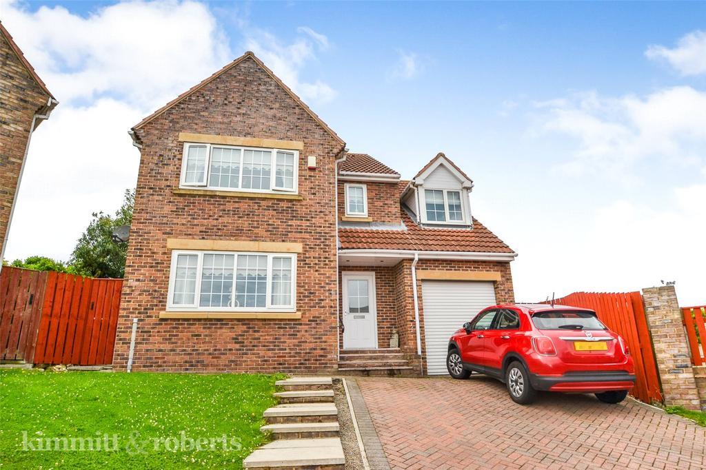 4 Bedrooms Detached House for sale in Ellison Meadow, Horden, Peterlee, Co.Durham, SR8