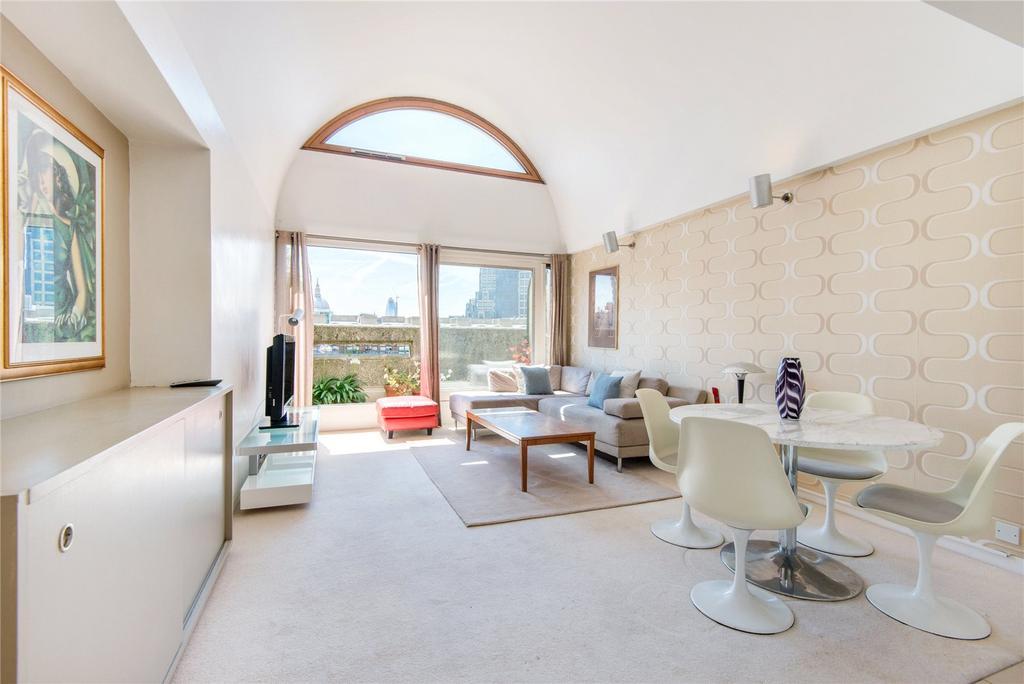 1 Bedroom Penthouse Flat for sale in Defoe House, EC2Y