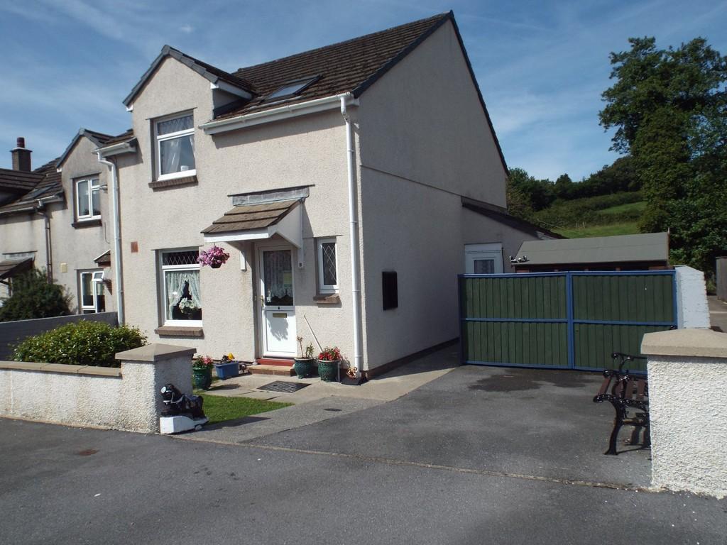 3 Bedrooms End Of Terrace House for sale in Nant Y Dderwen, Drefach