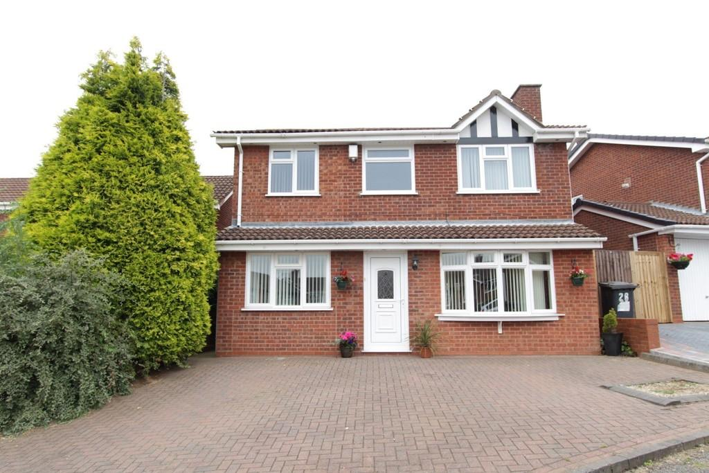 4 Bedrooms Detached House for sale in Deerhill, Wilnecote