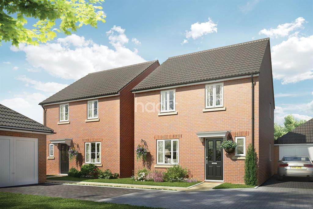 4 Bedrooms Detached House for sale in Plot 045 The Kelmarsh, Saxon Fields