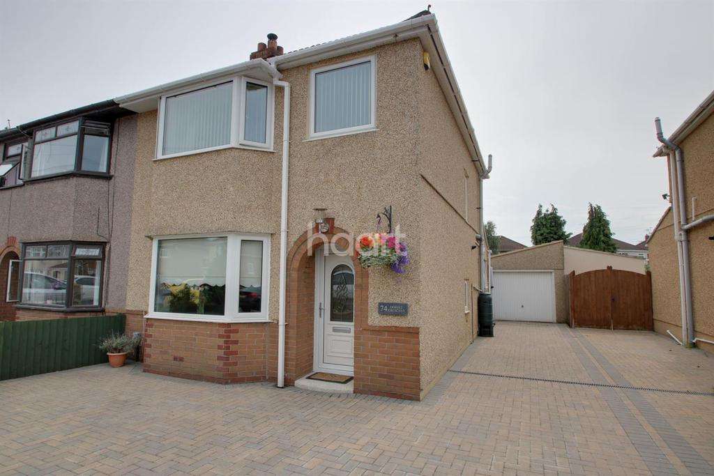3 Bedrooms Semi Detached House for sale in Dorset Crescent, Liswerry, Newport