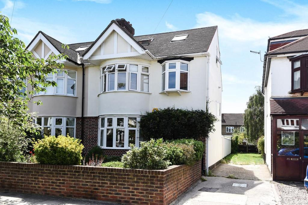 4 Bedrooms Semi Detached House for sale in Buckleigh Avenue, Wimbledon, SW20
