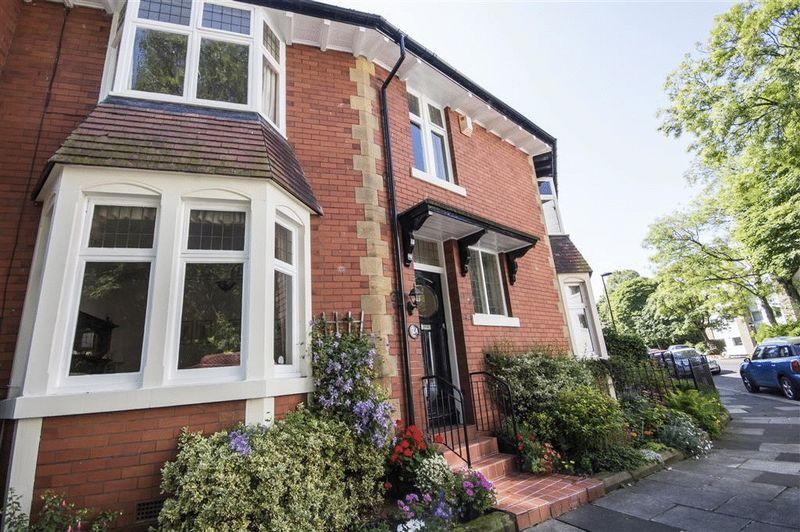 3 Bedrooms Terraced House for sale in Lodore Road, High West Jesmond