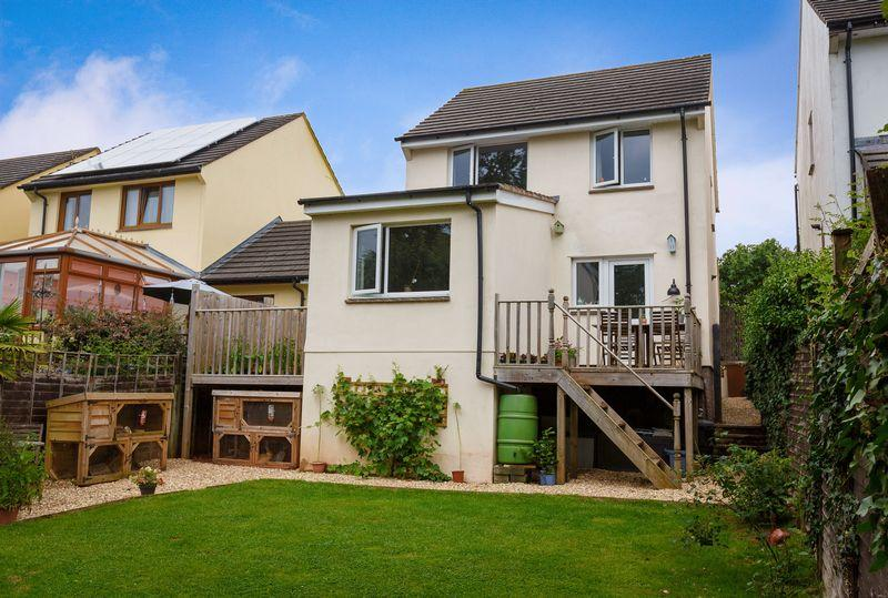 4 Bedrooms Detached House for sale in Fernworthy Park, Copplestone