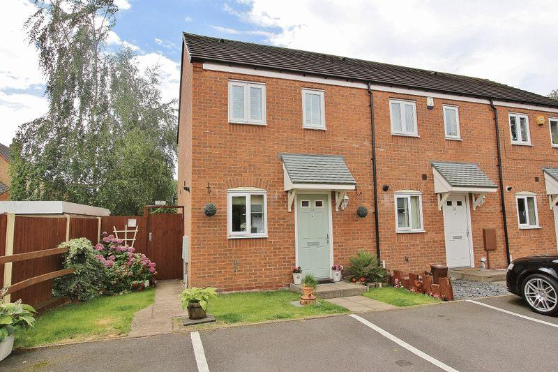 2 Bedrooms End Of Terrace House for sale in Jonah Drive, Tipton