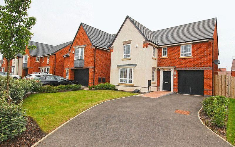 4 Bedrooms Detached House for sale in Brick Kiln Way, BAGGERIDGE VILLAGE