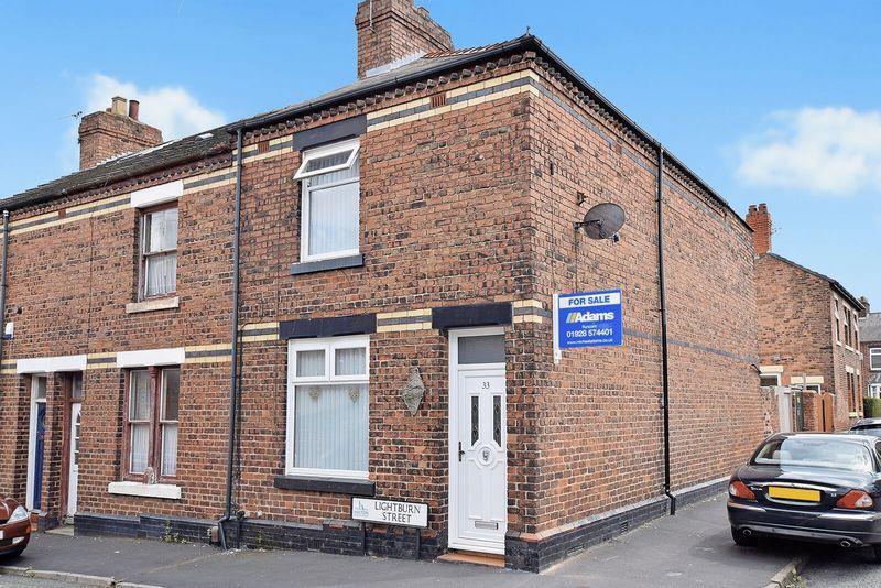 2 Bedrooms End Of Terrace House for sale in Lightburn Street, Runcorn