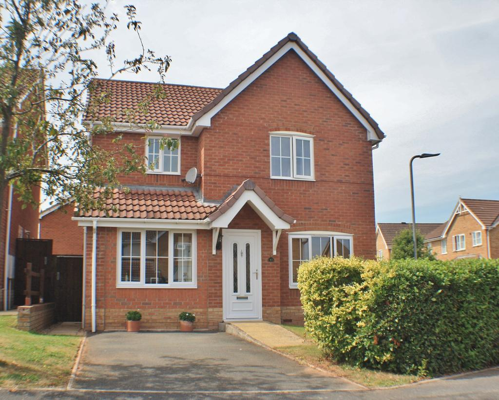 3 Bedrooms Detached House for sale in Oulton Avenue, Belmont, Hereford, HR2