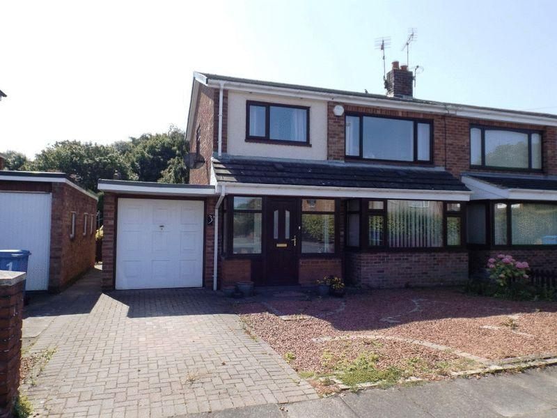 3 Bedrooms Semi Detached House for sale in Rookswood, Morpeth