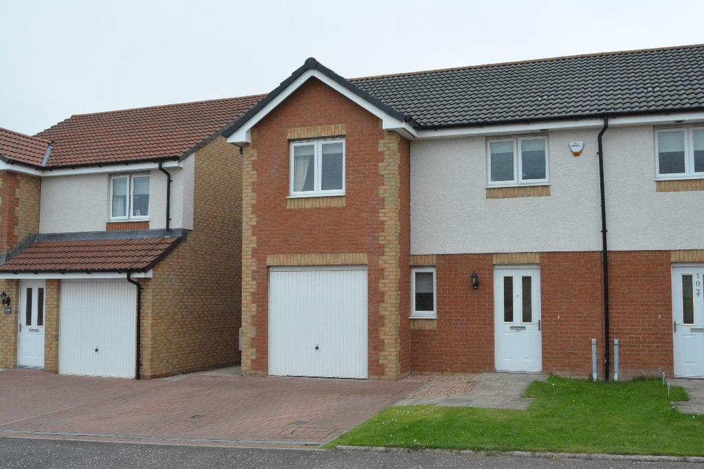 3 Bedrooms Semi Detached House for sale in Aitken Crescent, Redding, Falkirk, FK2 9GL