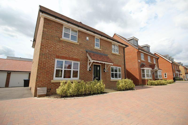 4 Bedrooms Detached House for sale in The Camellias, Ote Park, Burgess Hill