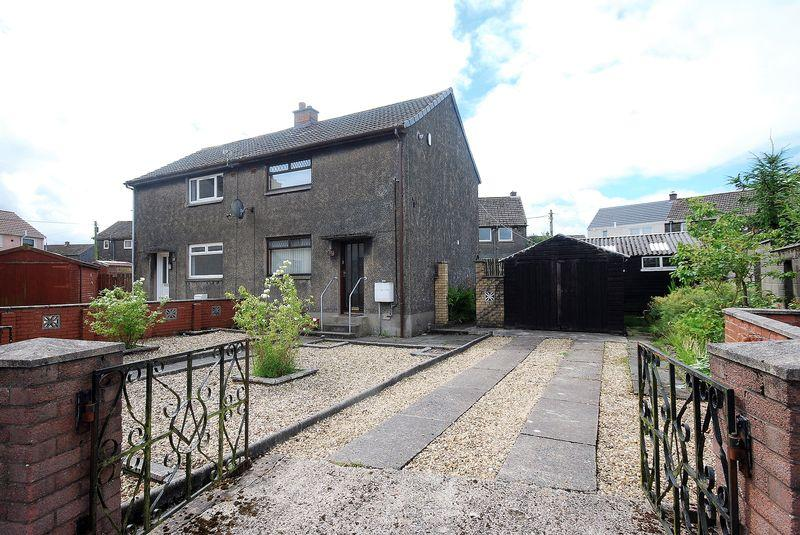 2 Bedrooms Semi-detached Villa House for sale in 30 Aird Avenue, Auchinleck, KA18 2JS