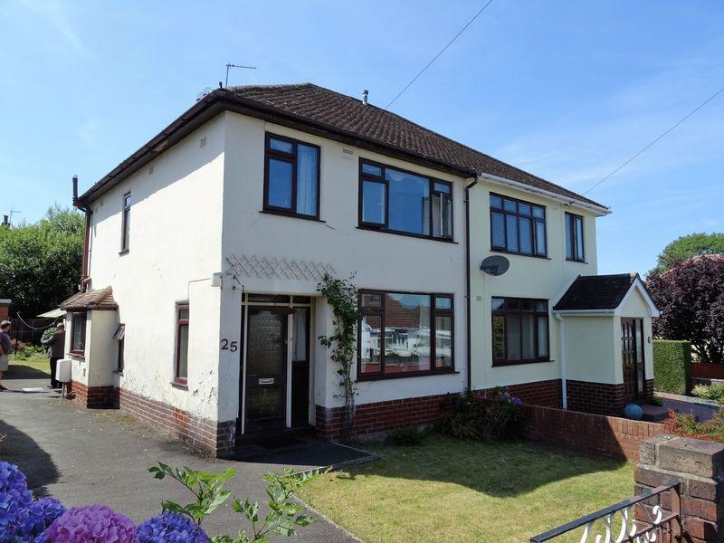 3 Bedrooms Semi Detached House for sale in Frances Avenue, Wrexham