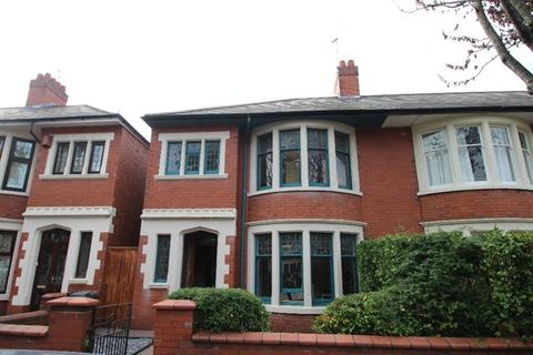 4 bedroom semi-detached house to rent - Princes Street, Cardiff, CF24 3PS