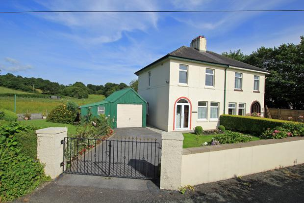 3 Bedrooms Semi Detached House for sale in Wellfield Road, Abergwili, Carmarthen, Carmarthenshire