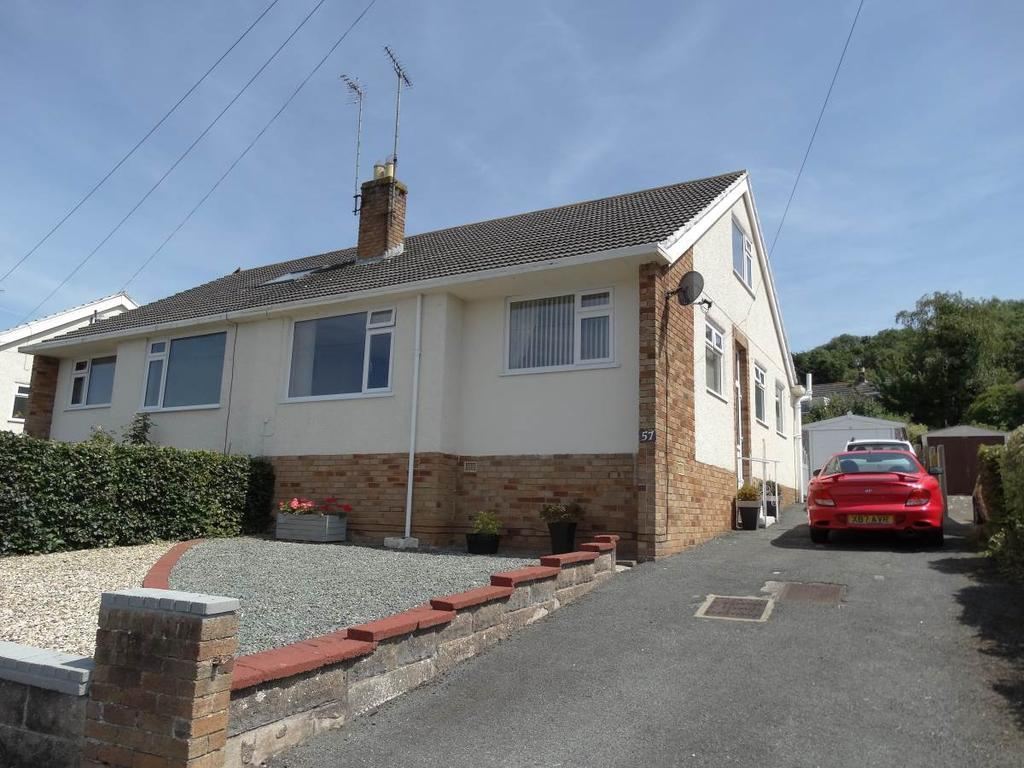 4 Bedrooms Semi Detached House for sale in 57 Cambrian Drive, Rhos on Sea, LL28 4TA