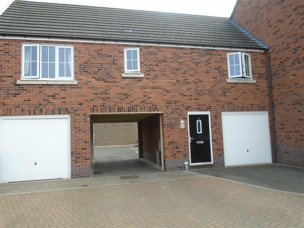 2 Bedrooms Apartment Flat for sale in Seven Foot Lane, Camp Hill, Nuneaton, Warwickshire, CV10