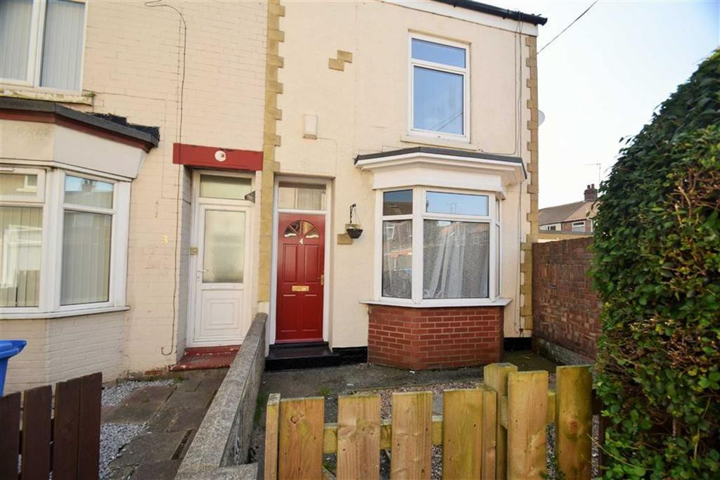 2 Bedrooms End Of Terrace House for sale in Edmonton Villas, Ceylon Street, Hull, East Yorkshire, HU9