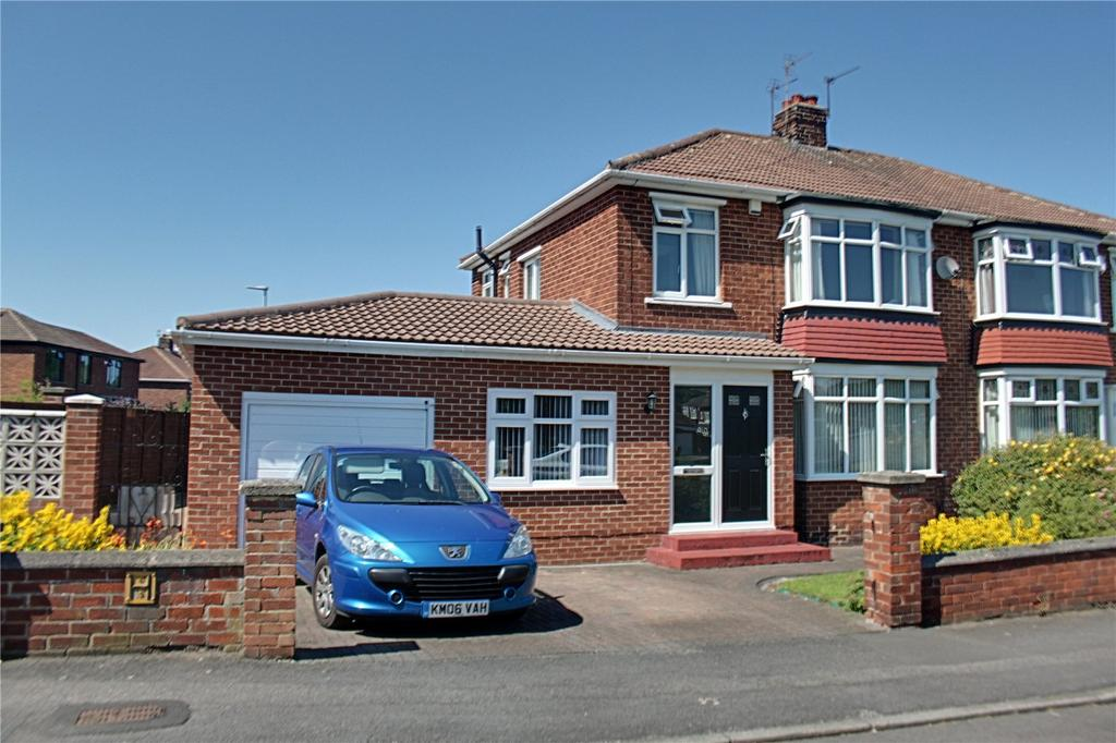 3 Bedrooms Semi Detached House for sale in Laneside Road, Hartburn