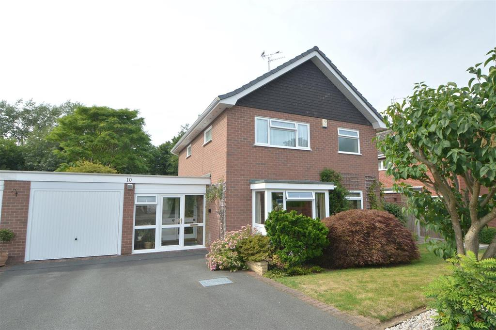 3 Bedrooms Detached House for sale in 10 Woodside Drive, Radbrook, Shrewsbury, SY3 9BW