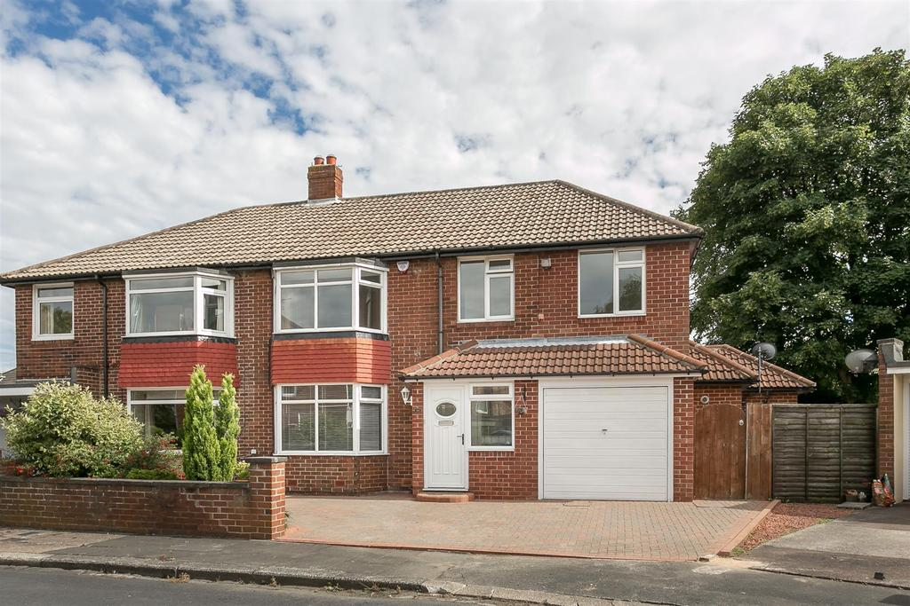 5 Bedrooms Semi Detached House for sale in Ravenswood Close, Forest Hall, Newcastle upon Tyne
