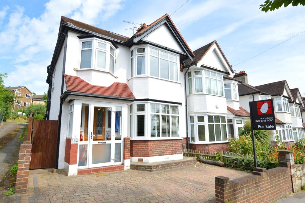 4 Bedrooms Semi Detached House for sale in Grange Road London SE19