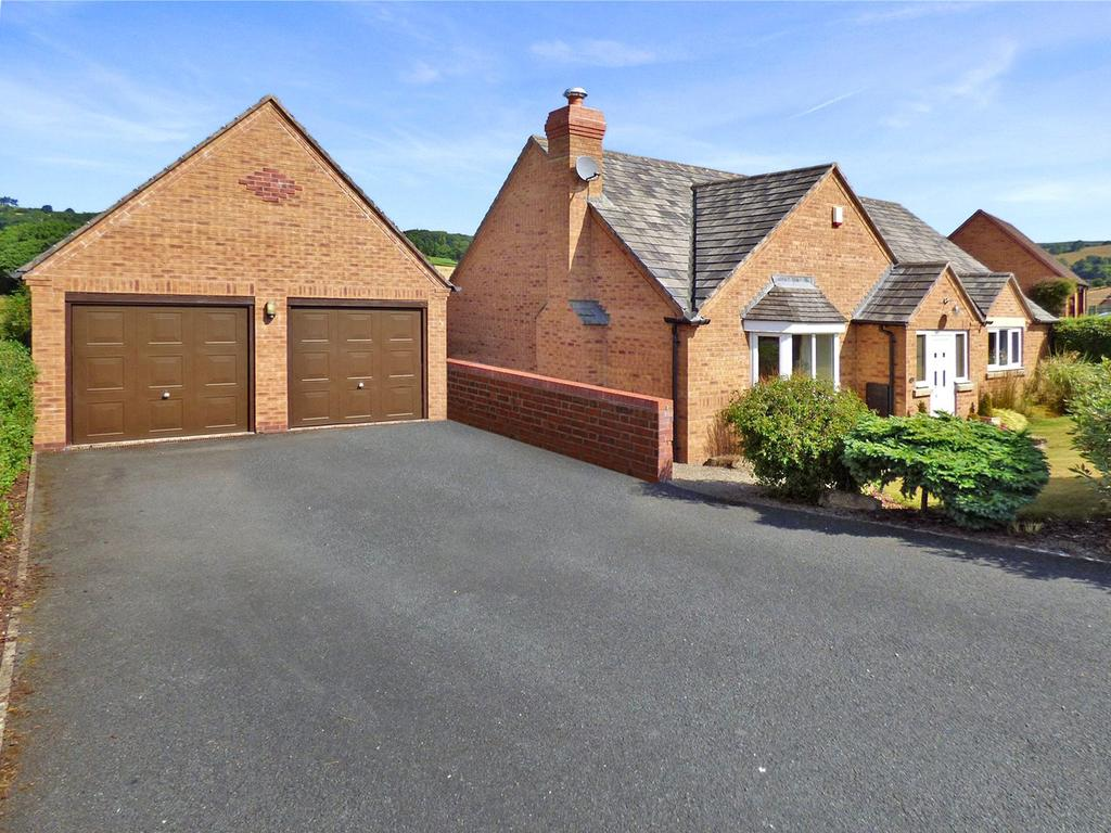 3 Bedrooms Detached Bungalow for sale in Offas Green, Norton, Presteigne, Powys