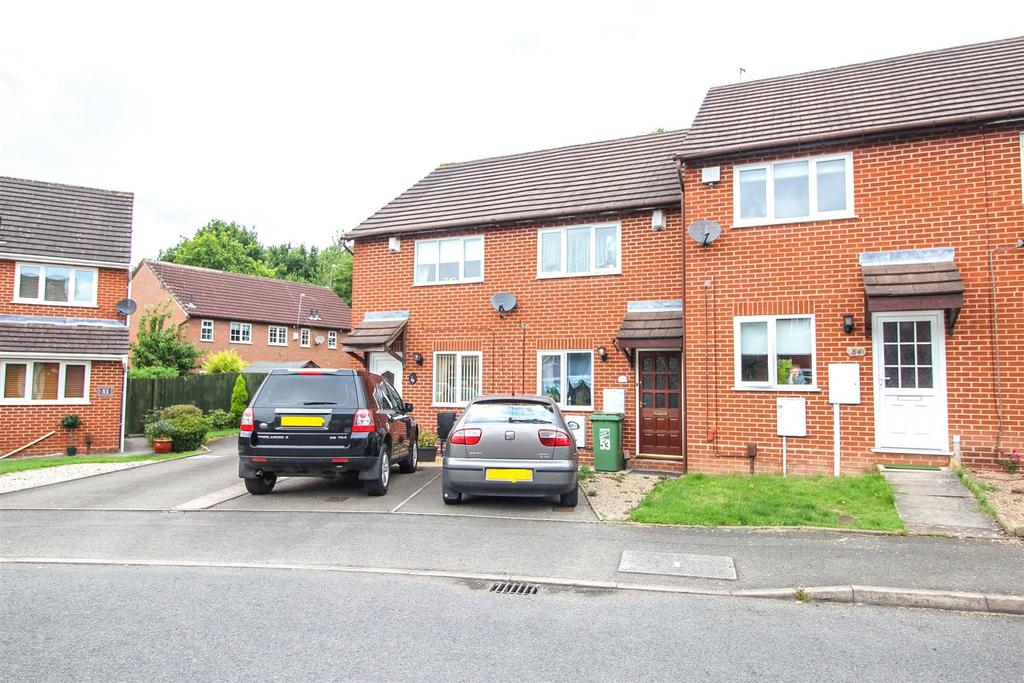 2 Bedrooms Terraced House for sale in Foxcote Close, Winyates East, Redditch